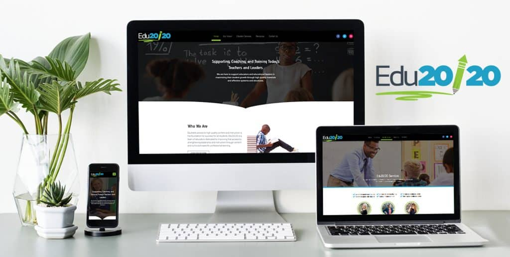 Educational Publication Website Design | EDU20/20