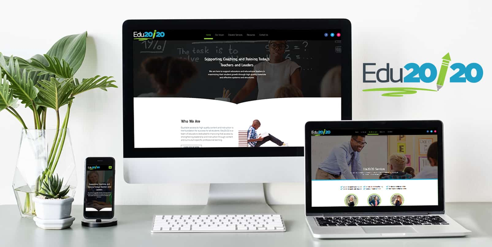 Educational Publication Website Design   EDU20/20